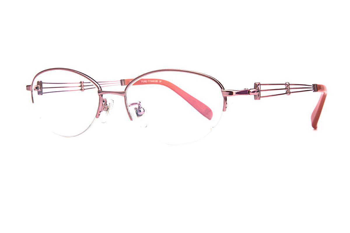 高质感纯钛淑女框 11523-C61