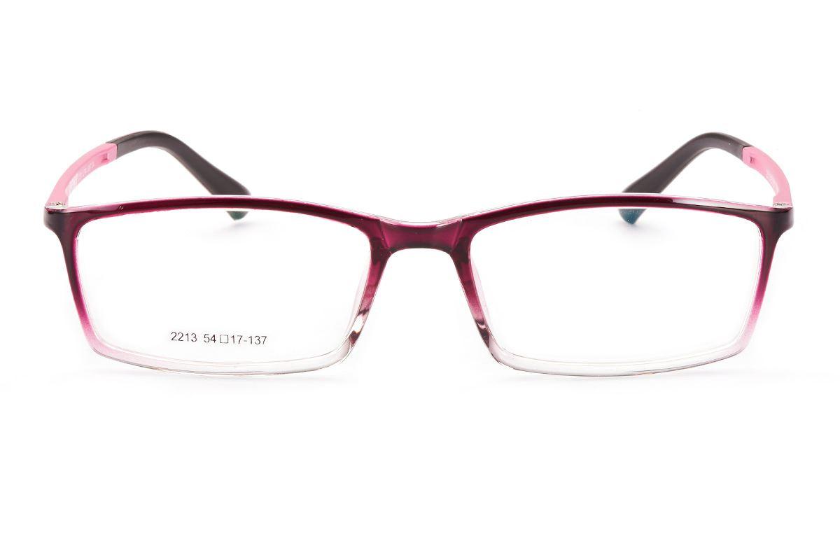 嚴選塑鋼眼鏡框 S2213-RE2