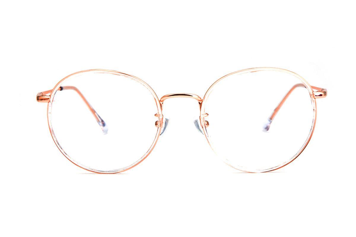 圆形复合眼镜 7742-C1442