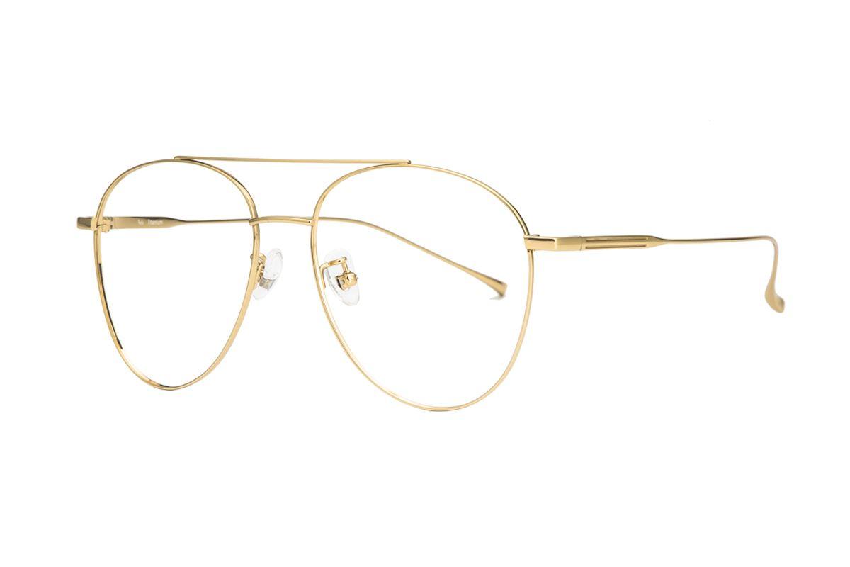 飞行员钛细框眼镜 V9060-C31