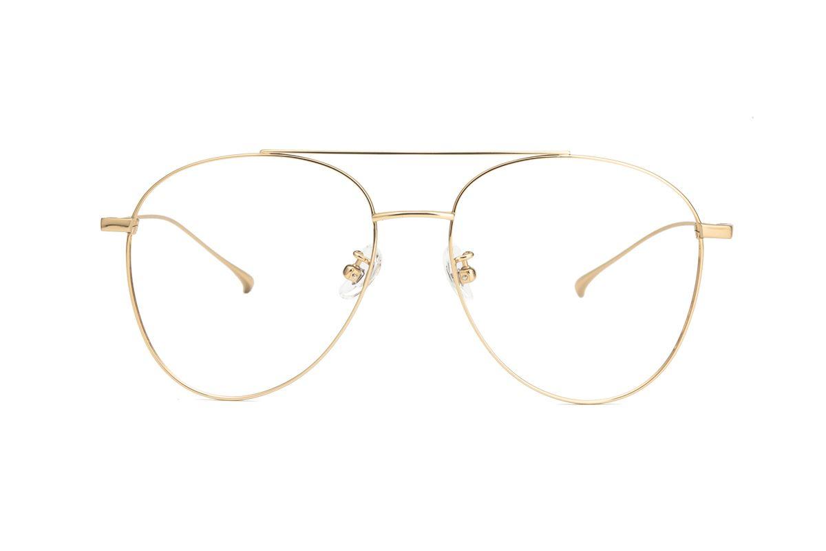 飞行员钛细框眼镜 V9060-C32