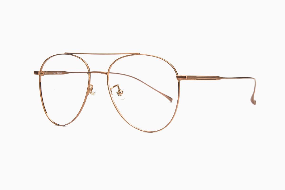 飞行员钛细框眼镜 V9060-C321