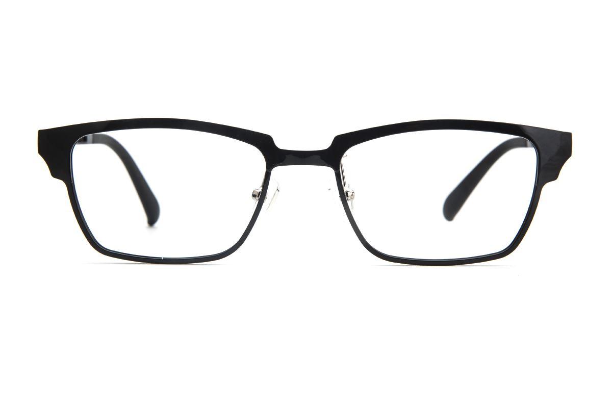 严选韩制塑钢眼镜 J1301-C12