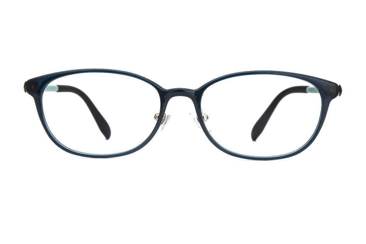 严选塑钢眼镜 OG102-N6BK2