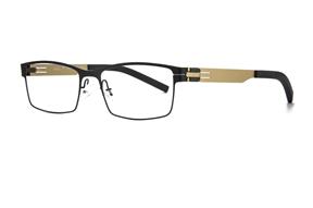 眼鏡鏡框-MAJU 薄鋼眼鏡 AR215-C41701