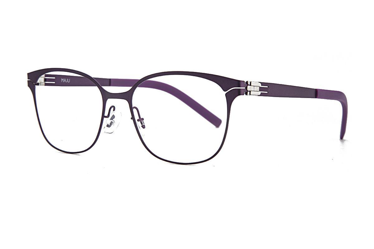 MAJU 薄钢眼镜 AR373-C56A1