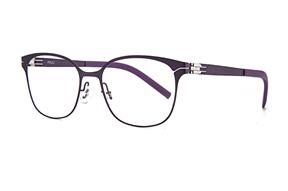 眼鏡鏡框-MAJU 薄鋼眼鏡 AR373-C56A