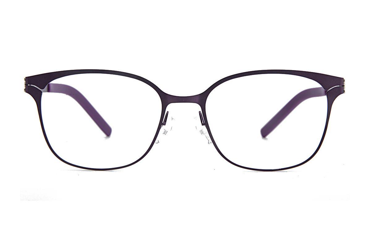 MAJU 薄钢眼镜 AR373-C56A2