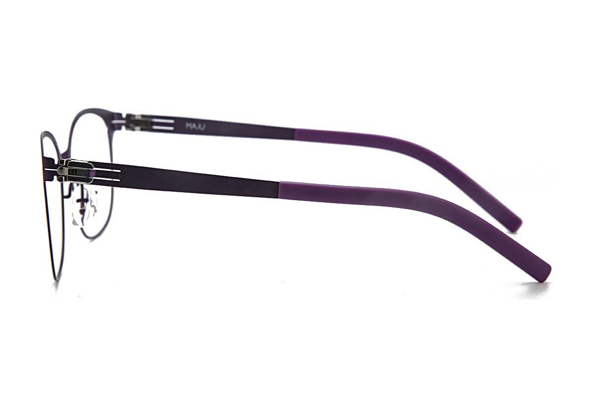 MAJU 薄钢眼镜 AR373-C56A3