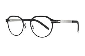 眼鏡鏡框-MAJU 薄鋼眼鏡 AR375-C41706