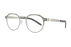 眼鏡鏡框-MAJU 薄鋼眼鏡 AR375-C02B