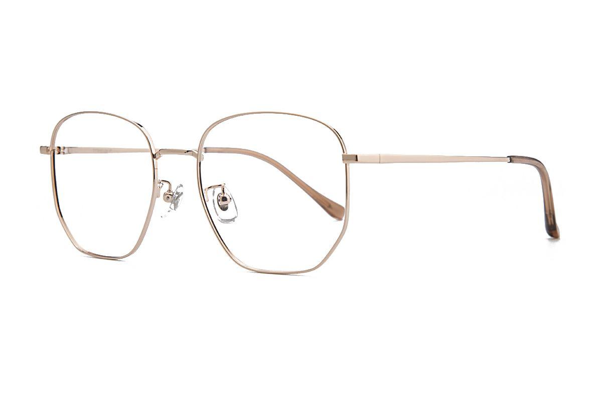 復古鈦細框眼鏡 8049-C91