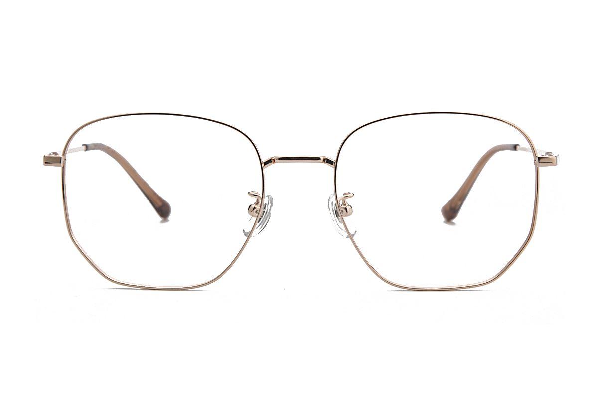 復古鈦細框眼鏡 8049-C92