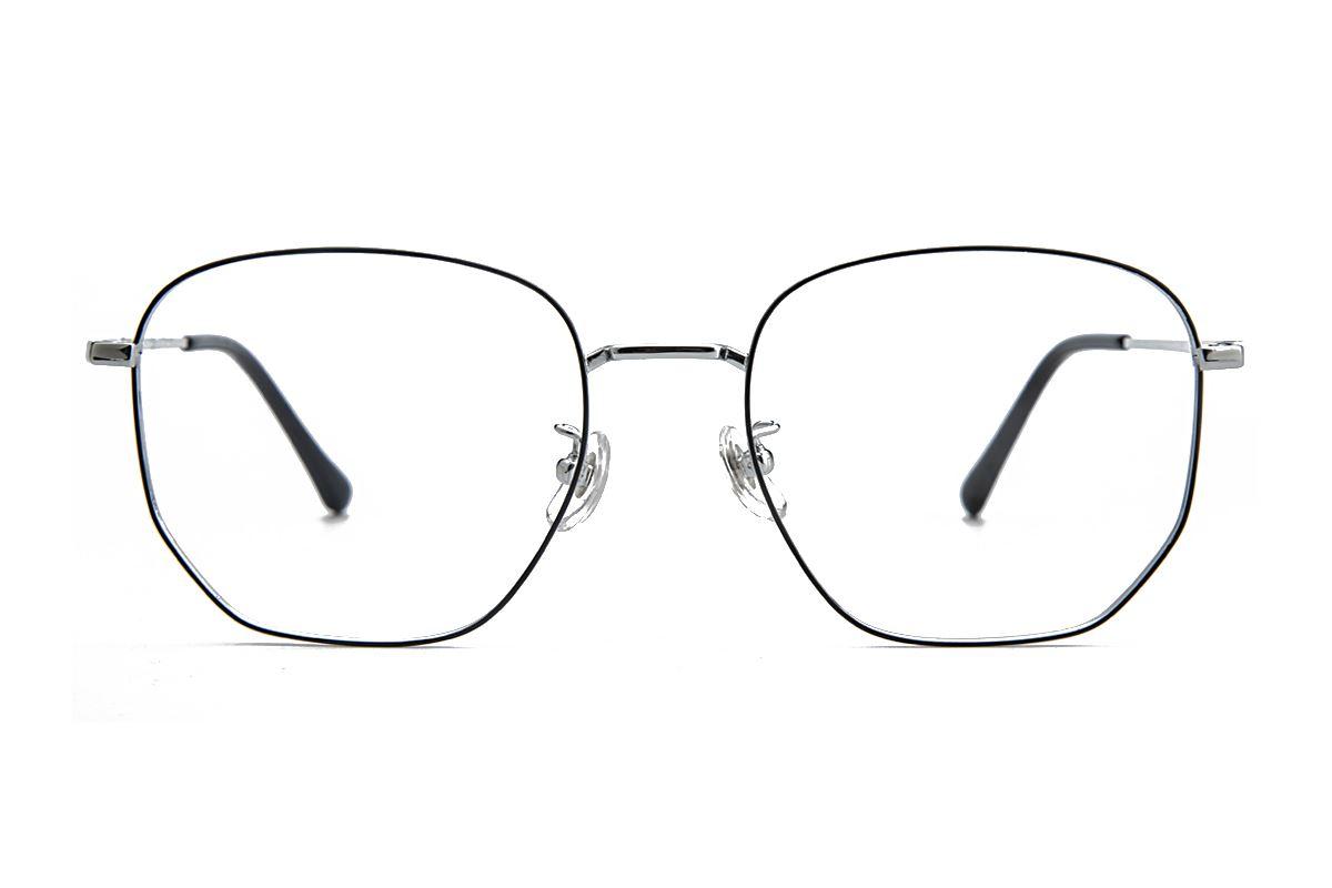 復古鈦細框眼鏡 8049-C52