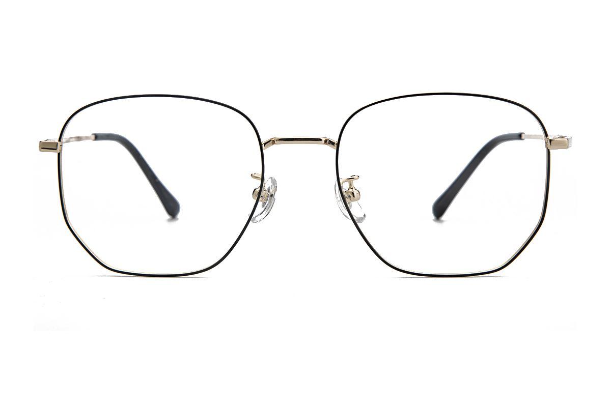 复古钛细框眼镜 8049-C62