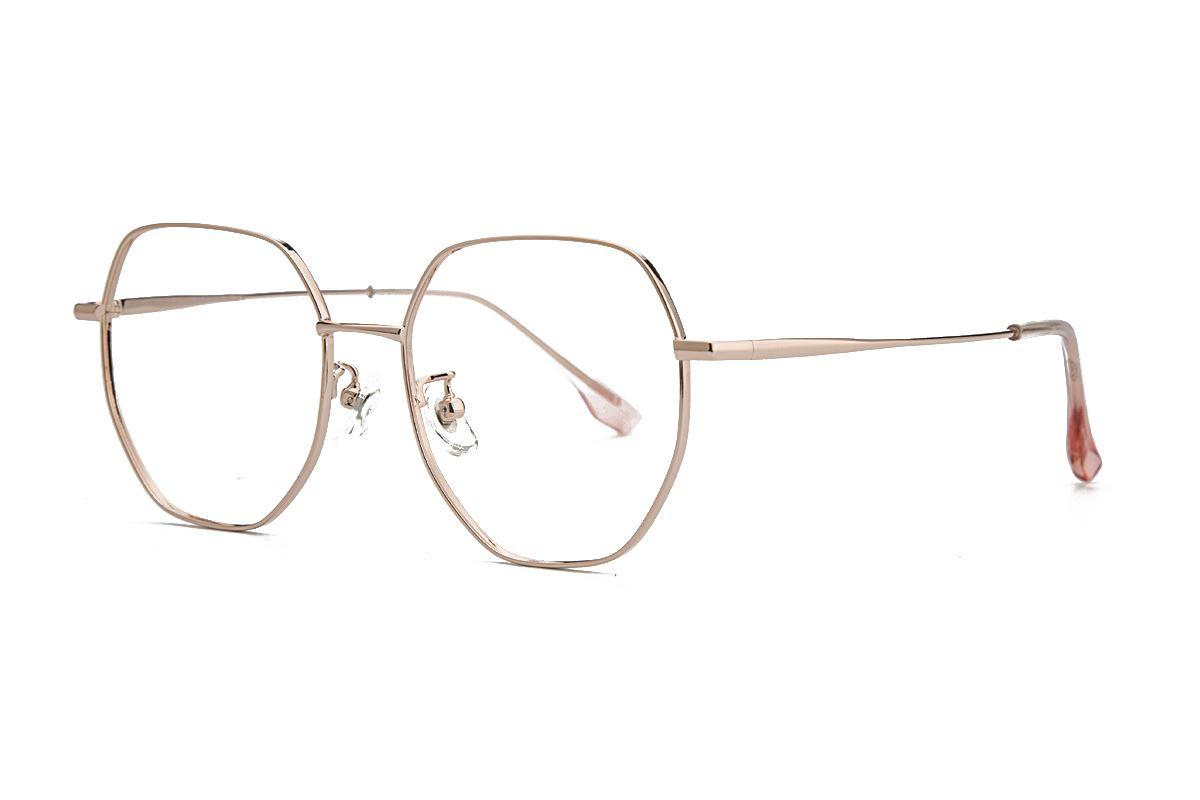 稜角鈦細框眼鏡 90082-C11