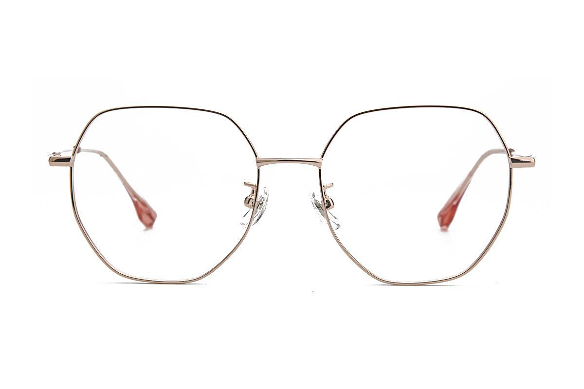 稜角鈦細框眼鏡 90082-C12