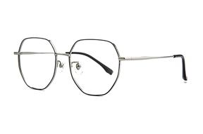 眼鏡鏡框-稜角鈦細框眼鏡 90082-C06