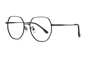 眼鏡鏡框-稜角鈦細框眼鏡 90082-FA