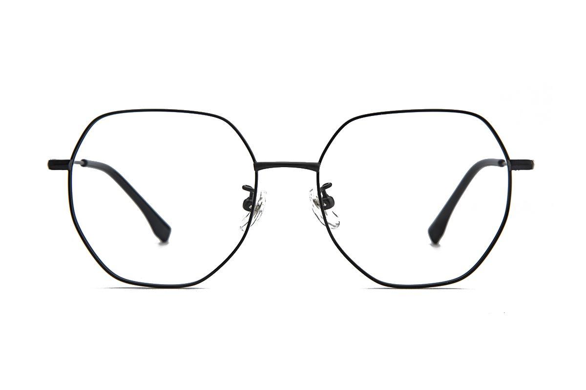 棱角钛细框眼镜 90082-FA2