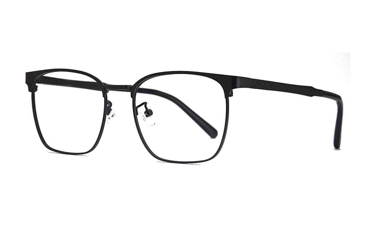 眉架质感眼镜 19195-C11
