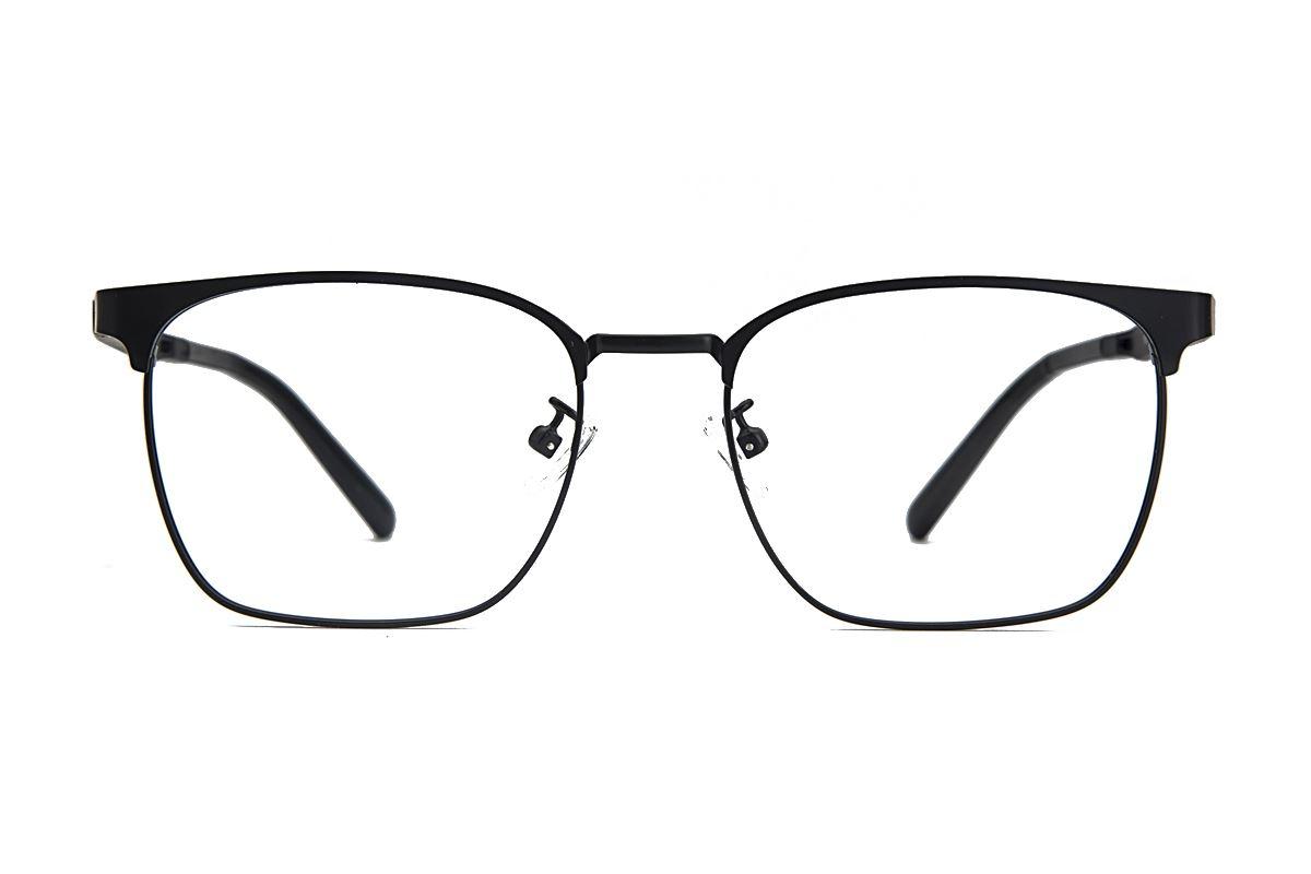 眉架质感眼镜 19195-C12