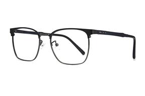 眼镜镜框-眉架质感眼镜 19195-C3