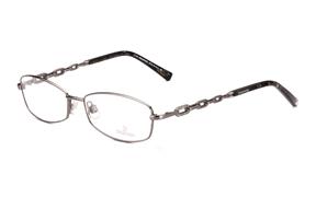 Glasses-Swarovski 高質感造型金屬框(SW5043槍)
