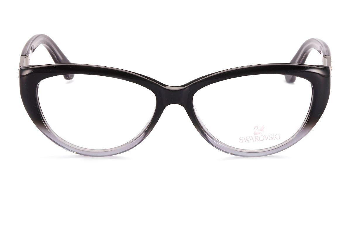 Swarovski 貓眼水鑽眼鏡 SW5085-0202
