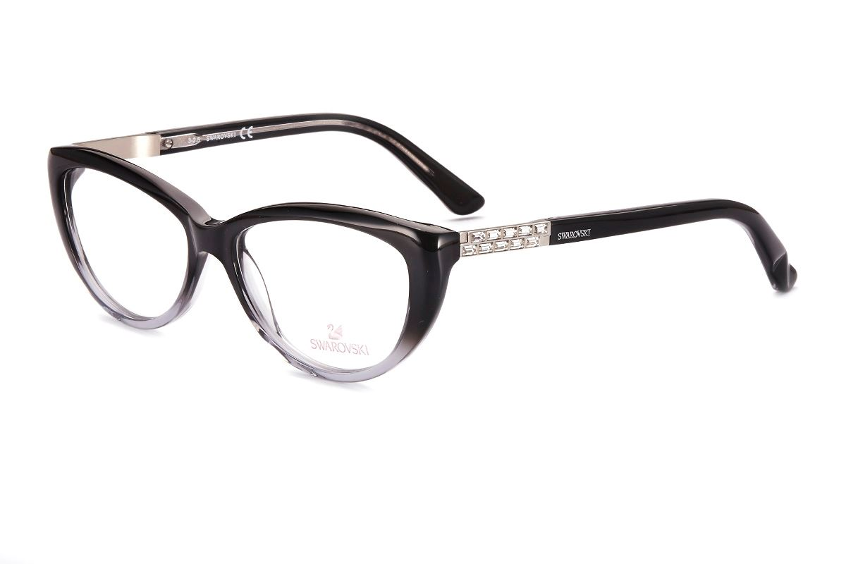 Swarovski 猫眼水钻眼镜 SW5085-0201