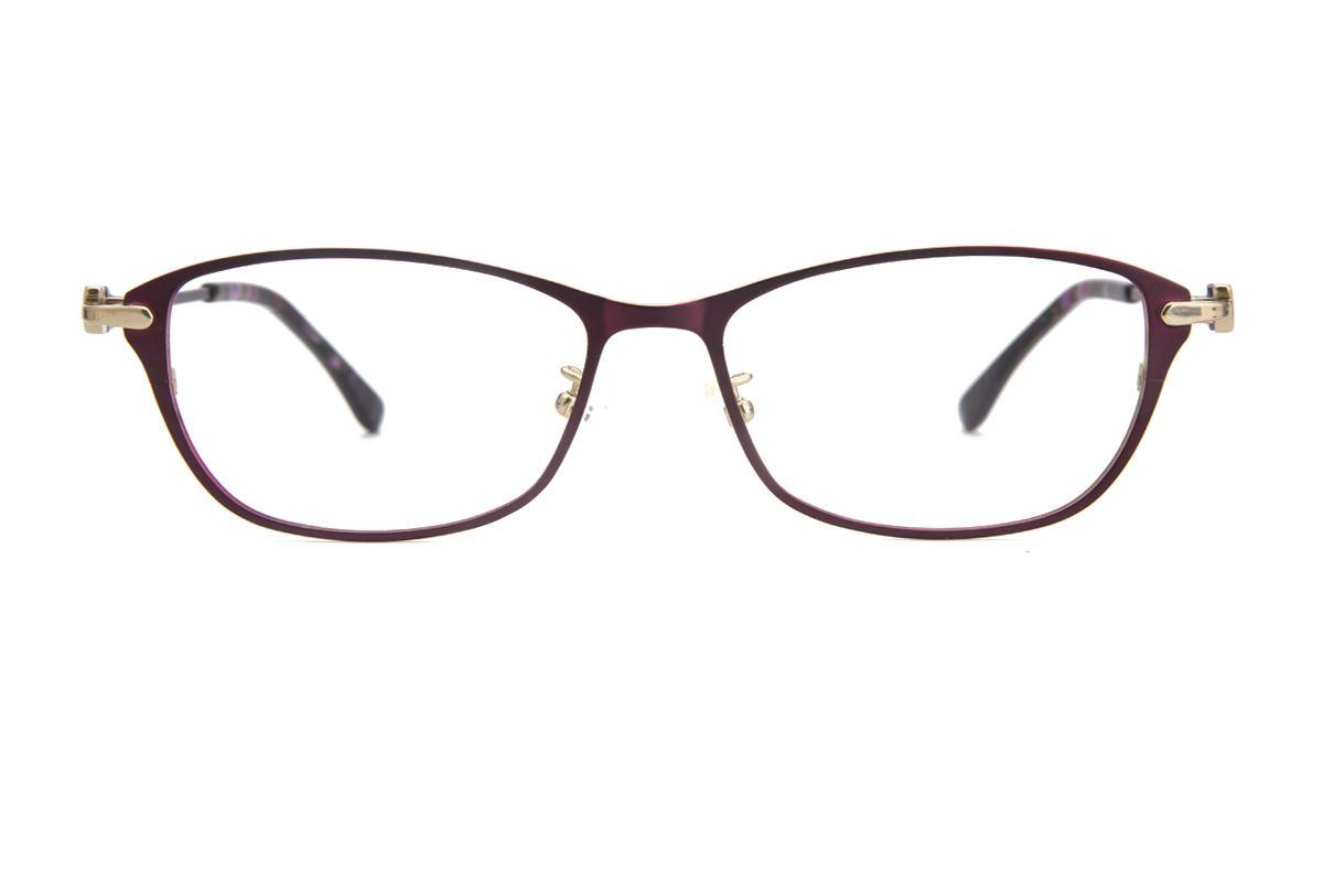高质感纯钛淑女框 9050-C52