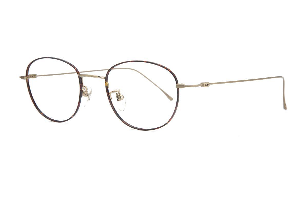严选高质感纯钛眼镜 11541-C1A1