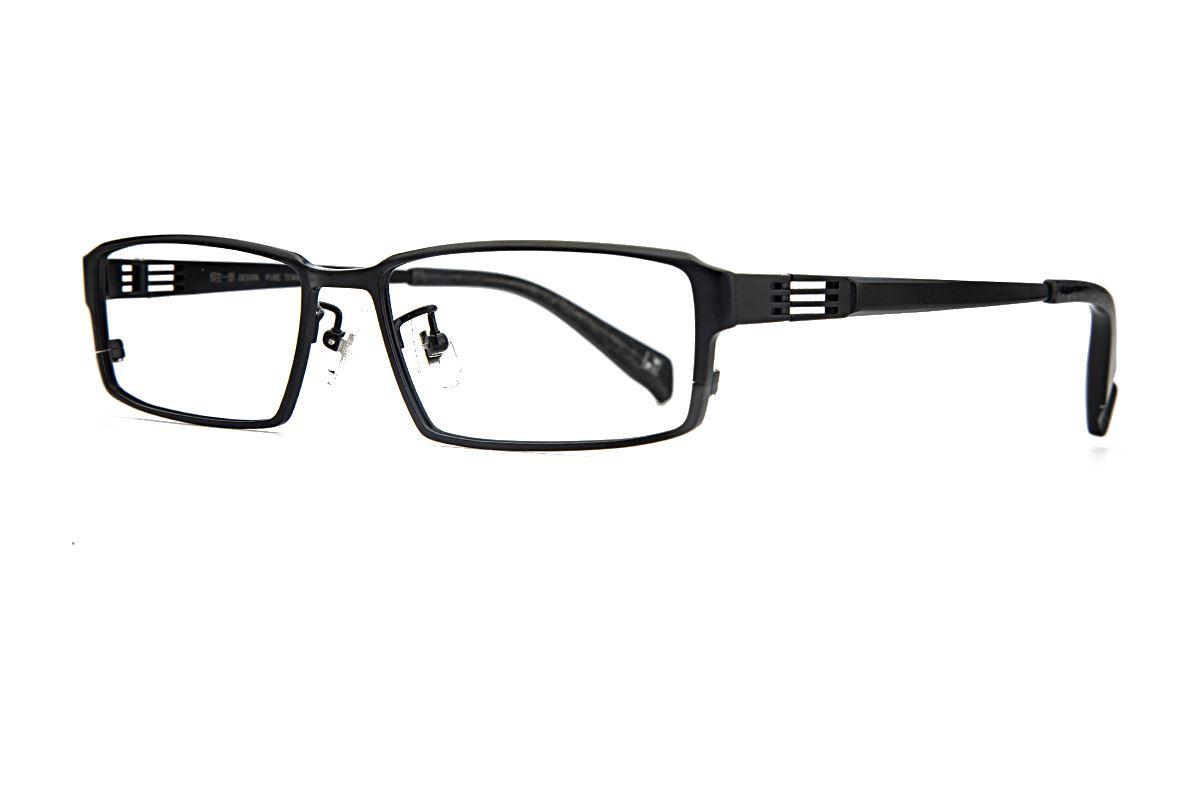 质感纯钛眼镜 柳 1015-C0071