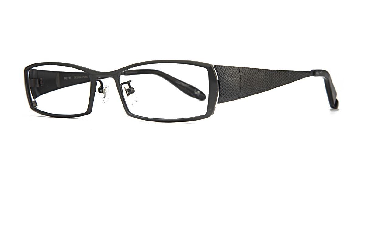 质感纯钛眼镜 柳 1011-C0061