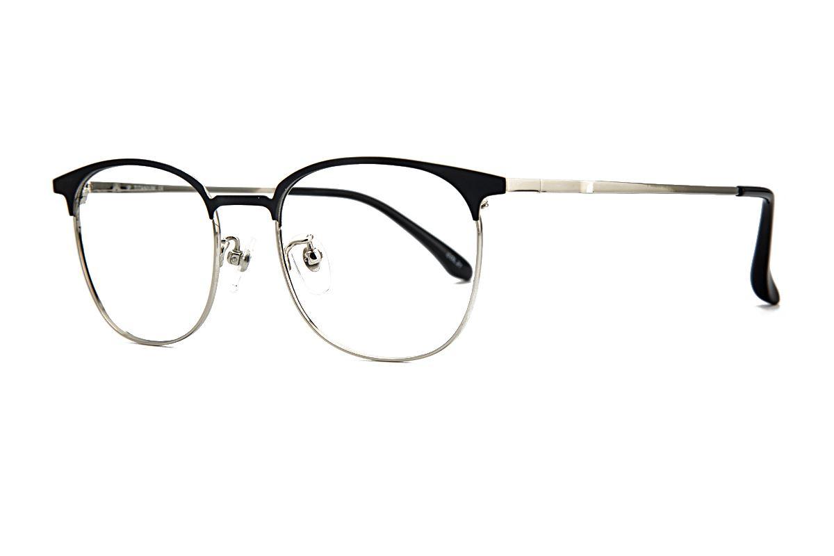 高质感眉架钛镜框 M9718-C211