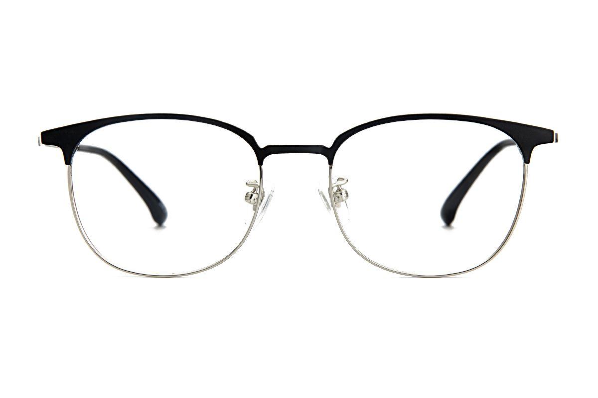 高质感眉架钛镜框 M9718-C212