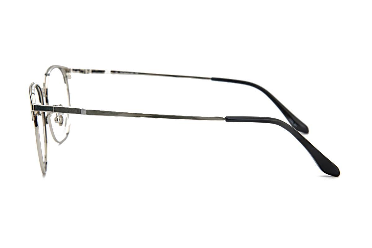 高质感眉架钛镜框 M9718-C213