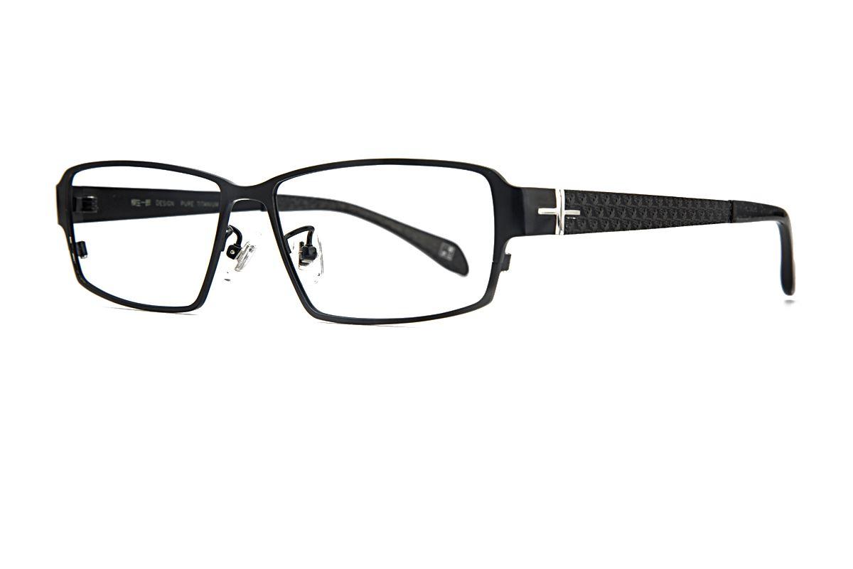 质感纯钛眼镜 柳 1025-C0071