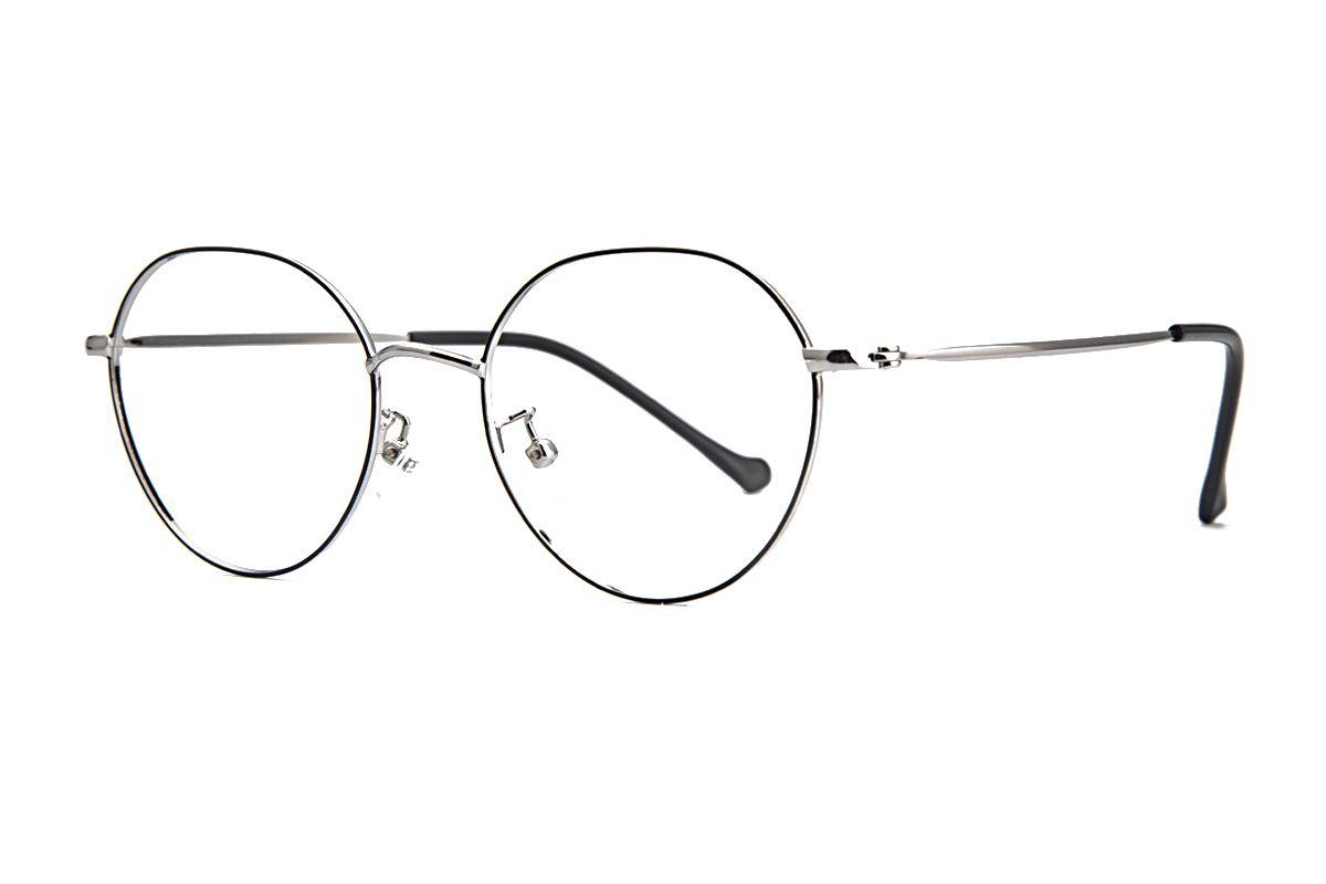 多角細框眼鏡 9628-C21