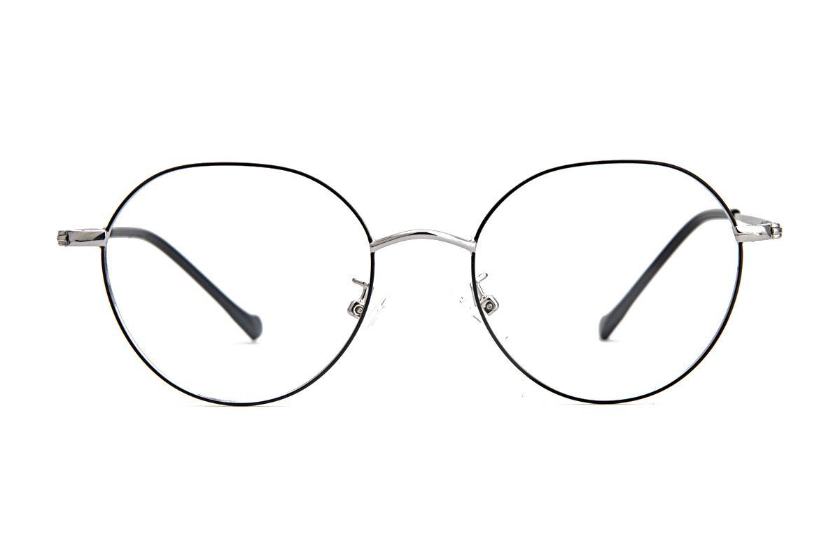 多角細框眼鏡 9628-C22