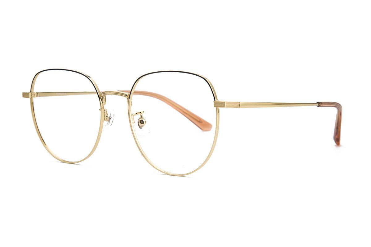 稜角鈦細框眼鏡 81806-C61