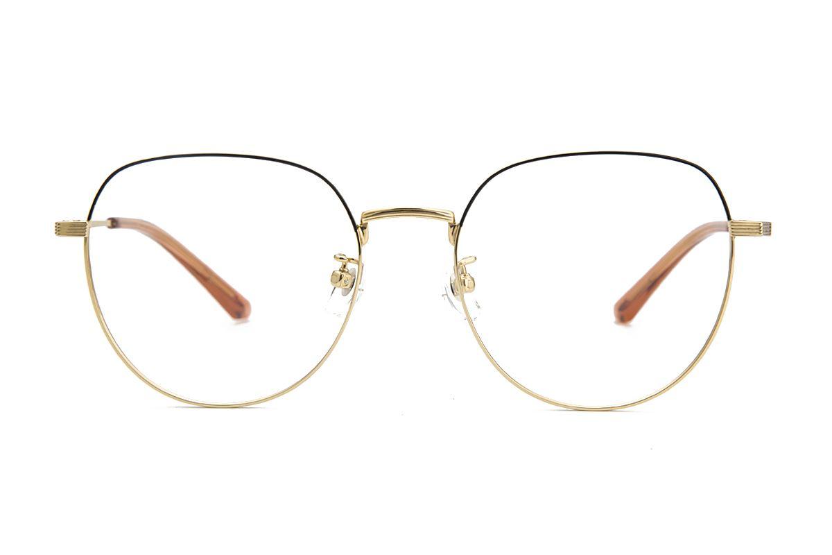 稜角鈦細框眼鏡 81806-C62