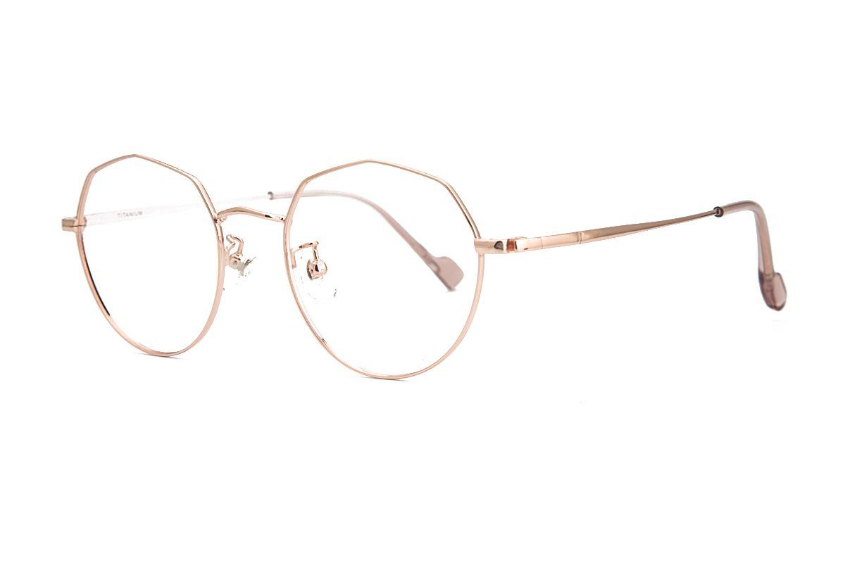 稜角鈦細框眼鏡 8153-C11