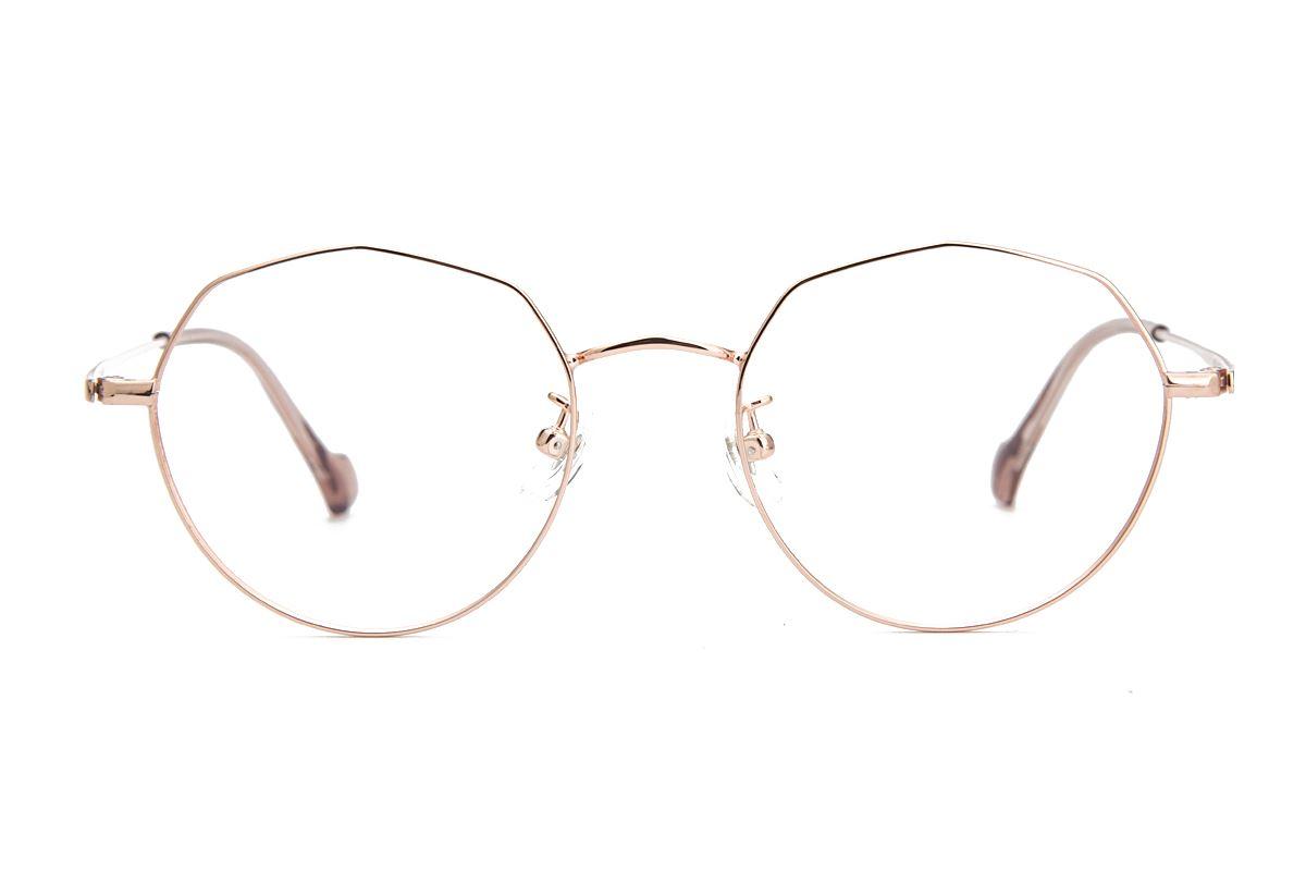 稜角鈦細框眼鏡 8153-C12