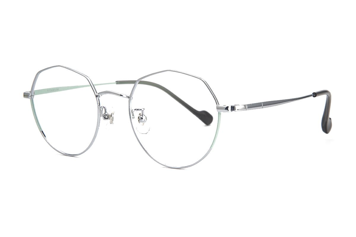 棱角钛细框眼镜 8153-C41