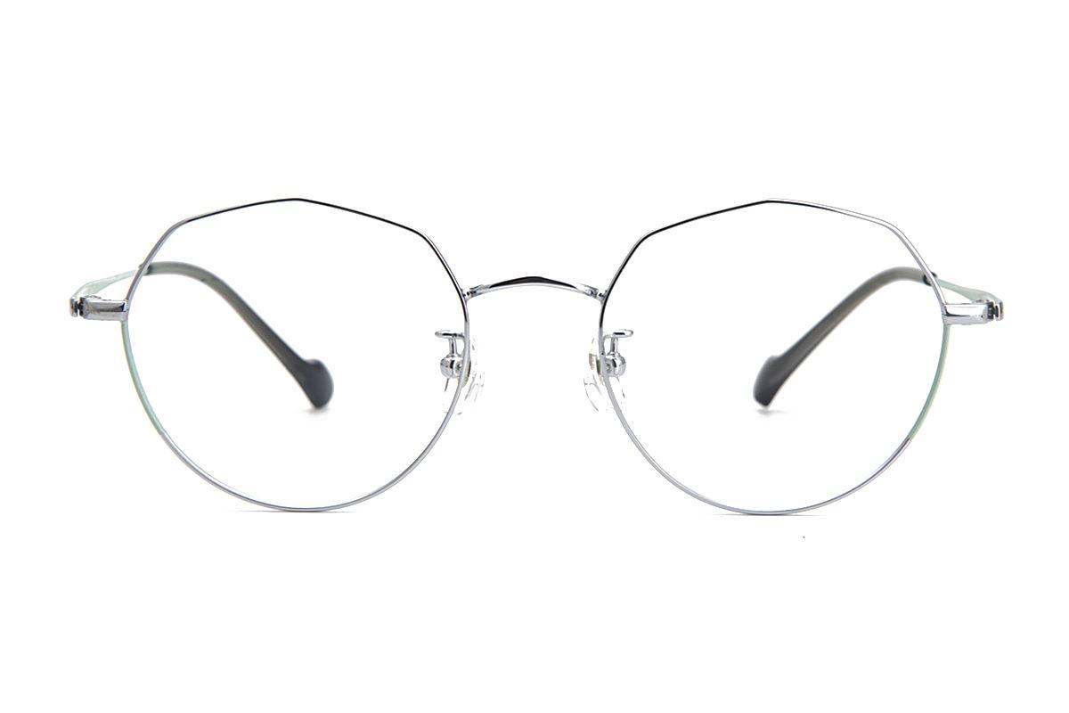 棱角钛细框眼镜 8153-C42