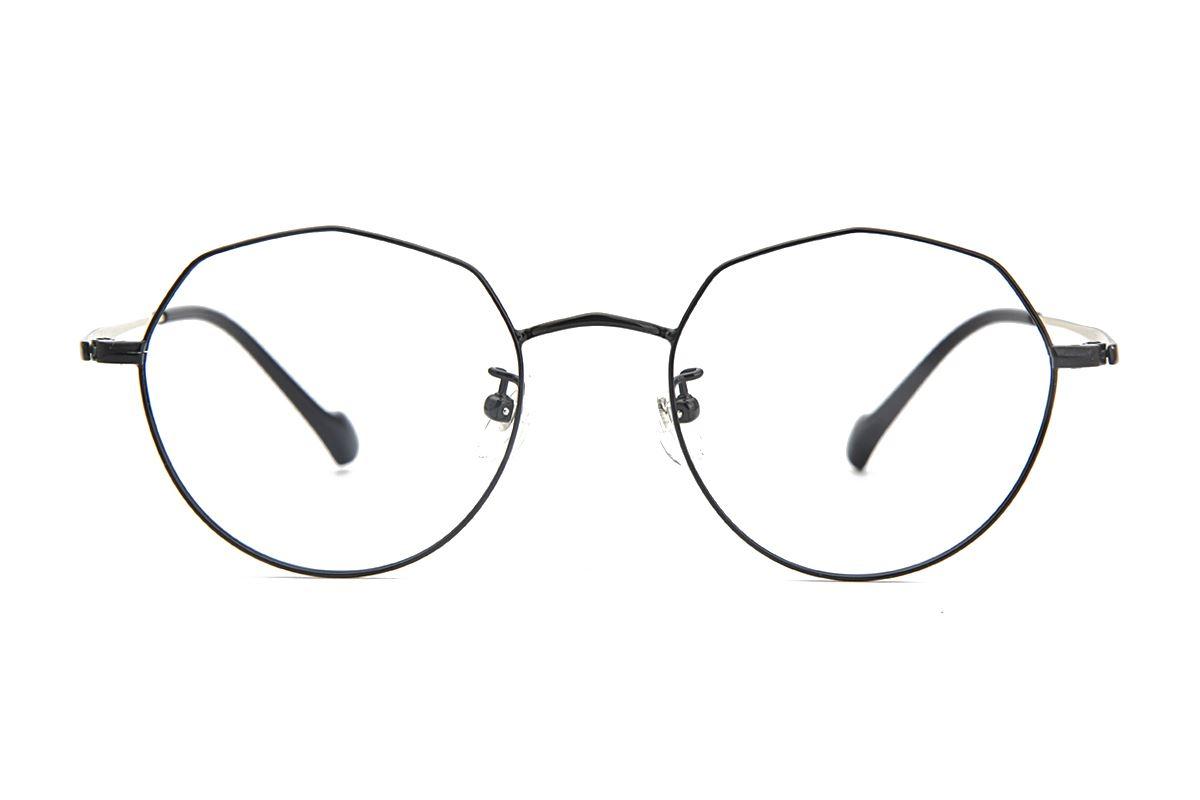 棱角钛细框眼镜 8153-C62