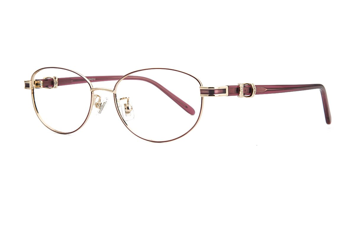 嚴選經典鈦眼鏡 8181-C71
