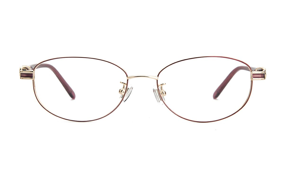 嚴選經典鈦眼鏡 8181-C72