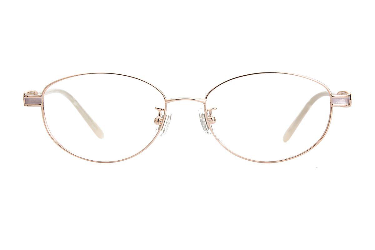 嚴選經典鈦眼鏡 8181-C12